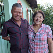 Alonzo Contreras and Alma Sagrario Velasquez are part of proud a family grown Hoduran Coffee farm and proud to support local fundraisers.