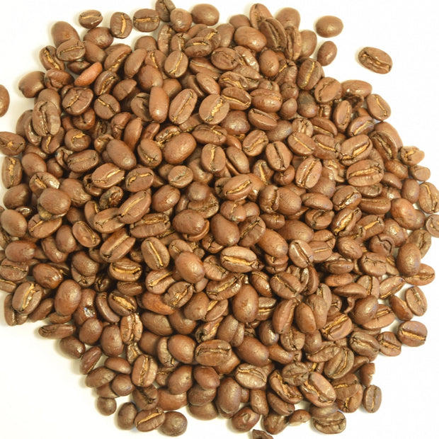 Alma's Full City Roast Coffee is a sweet aroma, lightly roasted Honduran coffee.