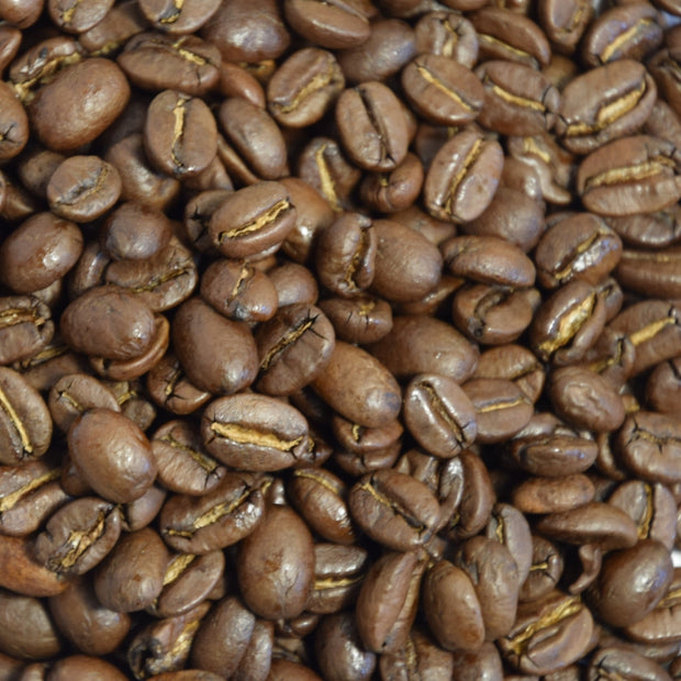 Alma's light roast Hoduran coffee has a sweet aroma and is available in ground and whole bean.