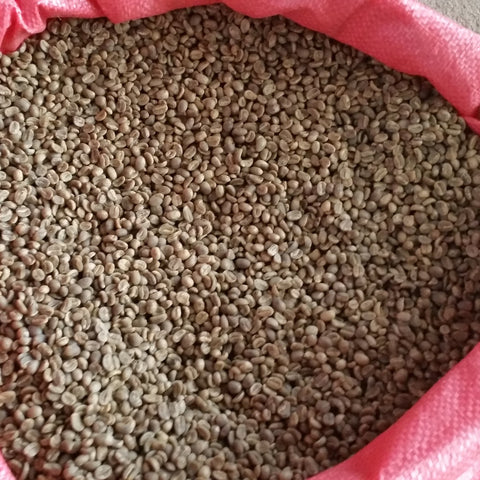 Green Unroasted Coffee