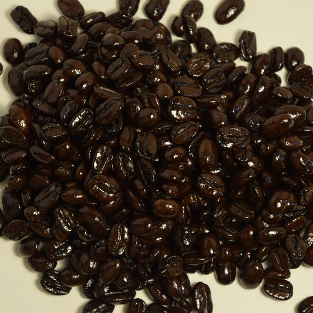 French Dark Roast Coffee fundraiser option is the strongest roast of shade grown coffee offered.