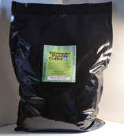 Maximo's French Dark Roast Coffee is available in 5 lb bags. For coffee lovers or offices this size coffee bag gives you the best fundraiser value.