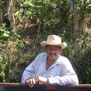 Maximo Velasquez is the patriarch of Velasquez Family Coffee. The Honduras family coffee farm raises shade grown coffee that is fair trade.