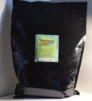 Velasquez Family Coffee comes in 5 pound bulk bags for offices and churches. Natalia's Vienna Roast comes in ground and whole bean 5 lb. bags.