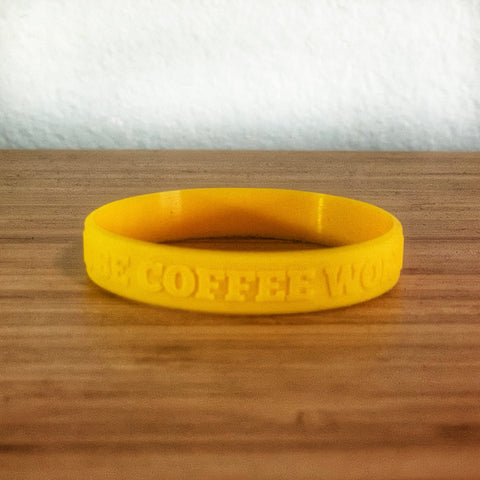 Always Be Coffee Worthy Wristband