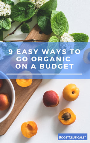 9 EASY WAY TO GO ORGANIC ON A BUDGET