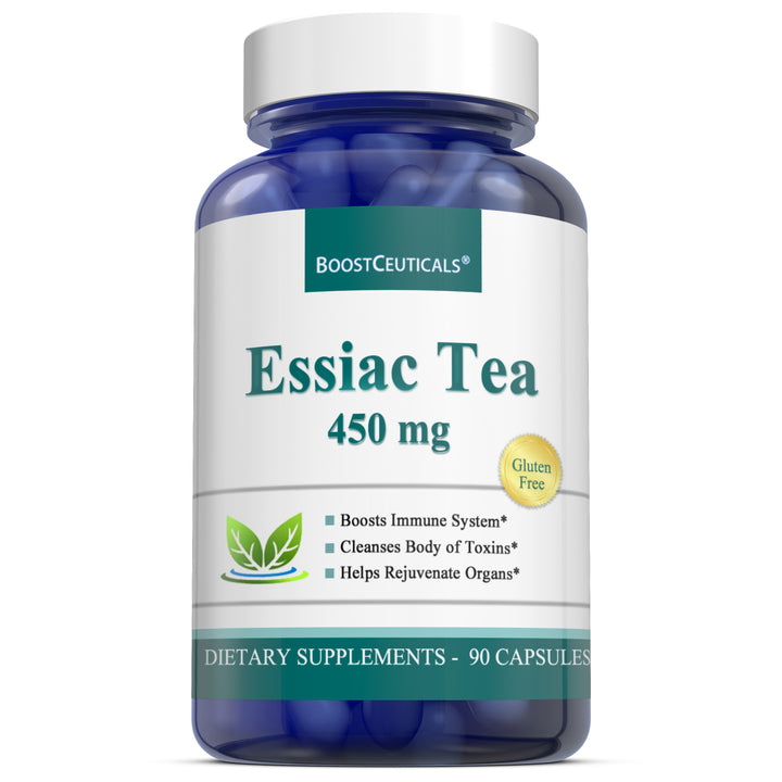 ESSIAC  TEA 450mg 90 CAPSULES - Boostceuticals®