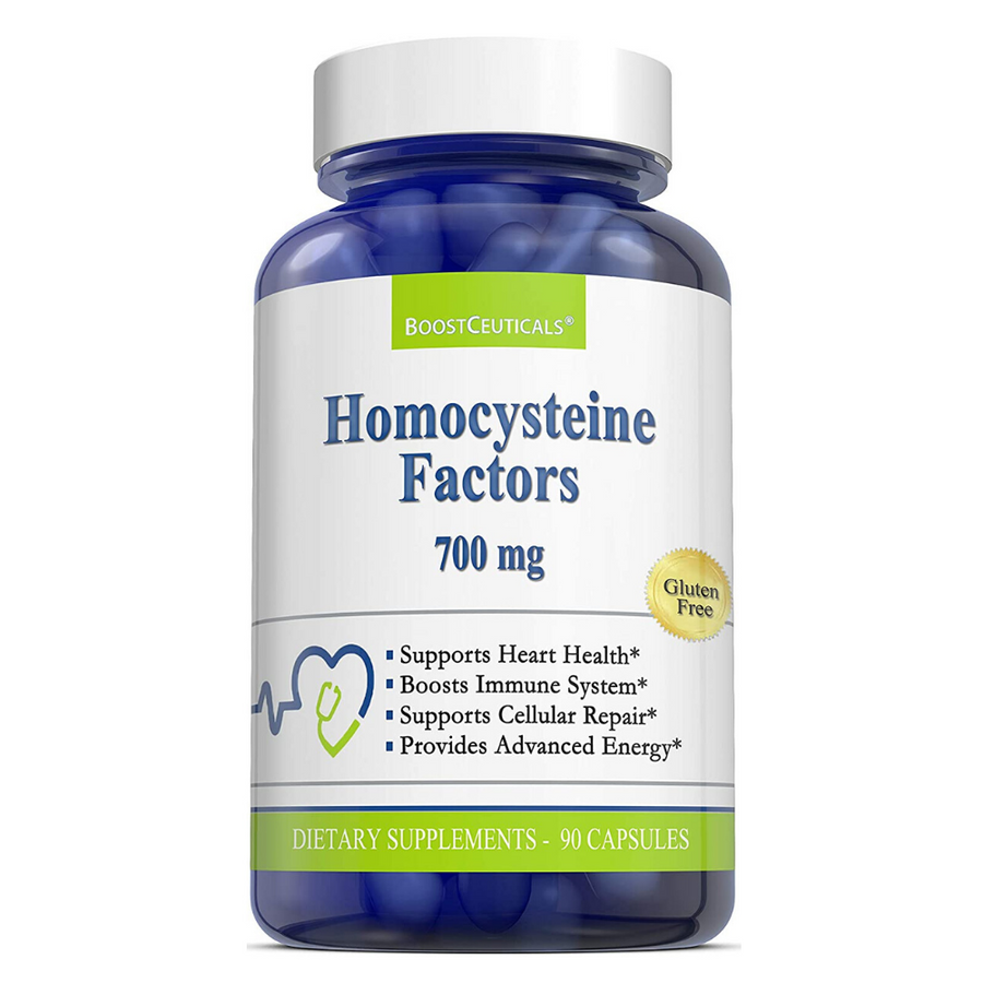 HOMOCYSTEINE FACTORS 1400mg - Boostceuticals
