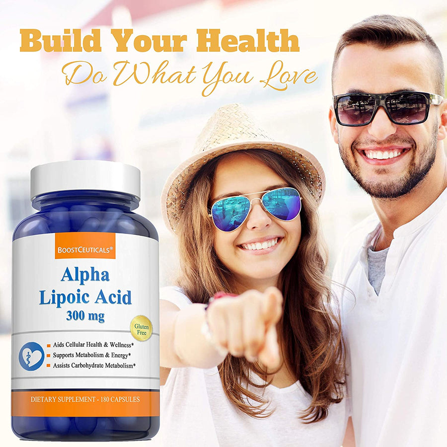 ALPHA LIPOIC ACID 600mg - Boostceuticals