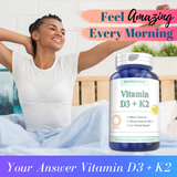 Vitamin D3 + K2 - Boostceuticals