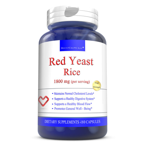 RED YEAST RICE  180 CAPSULES