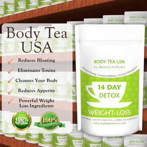BODY TEA USA - Boostceuticals