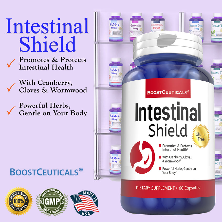 INTESTINAL CLEANSER SHIELD - Boostceuticals®