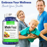 WHOLE FOOD VITAMINS MULTIVITAMIN - Boostceuticals