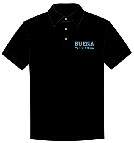 Buena Track & Field Embroidered Polo Shirt