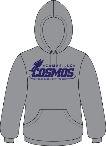 Camarillo Cosmos Hooded Sweatshirts - Heather Grey - Classic