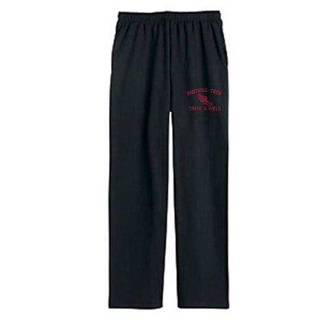 Foothill Tech Track Sweatpants - Black