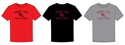 Foothill Tech Track & Field Heritage Cotton T-Shirt