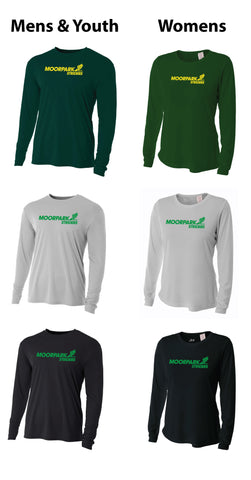 Moorpark Striders Tech Shirts - Long Sleeve