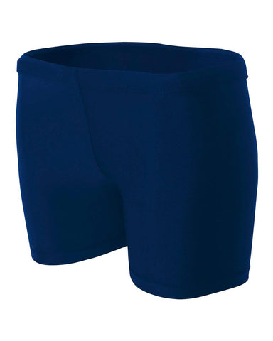 HV Womens Navy Compression Short