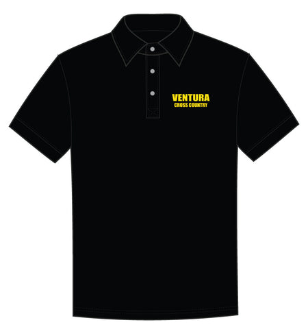 Ventura Cross Country Embroidered Polo Shirt