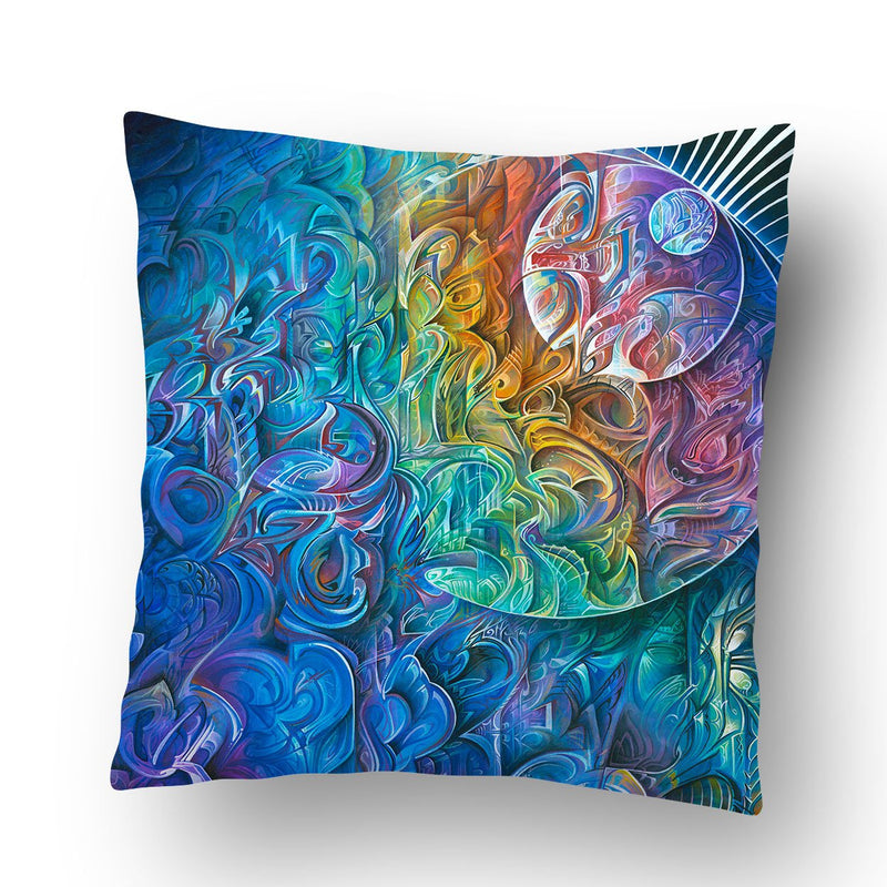 DAWN OF TRANSCENDENTAL JUBILANCE PILLOW