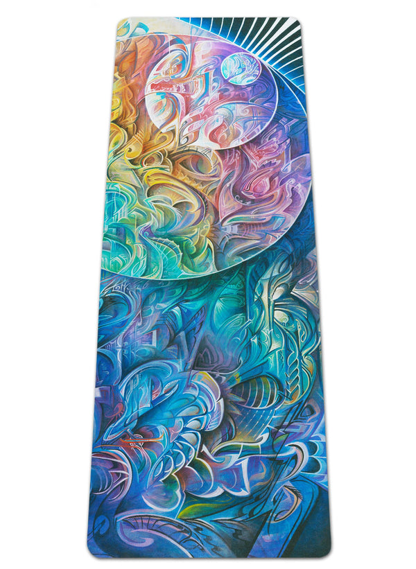 DAWN OF TRANSCENDENTAL JUBILANCE YOGA MAT