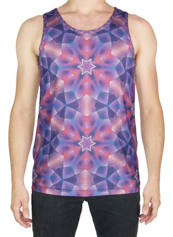 Star Petals Patterned Tank