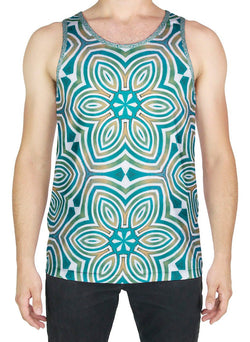 The Sun Shines for All Without Reservation Patterned Tank