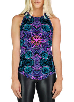 Maya Patterned Racerback Tank