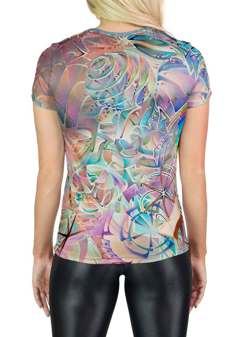 Evolve Inverted Scoop Neck T-Shirt