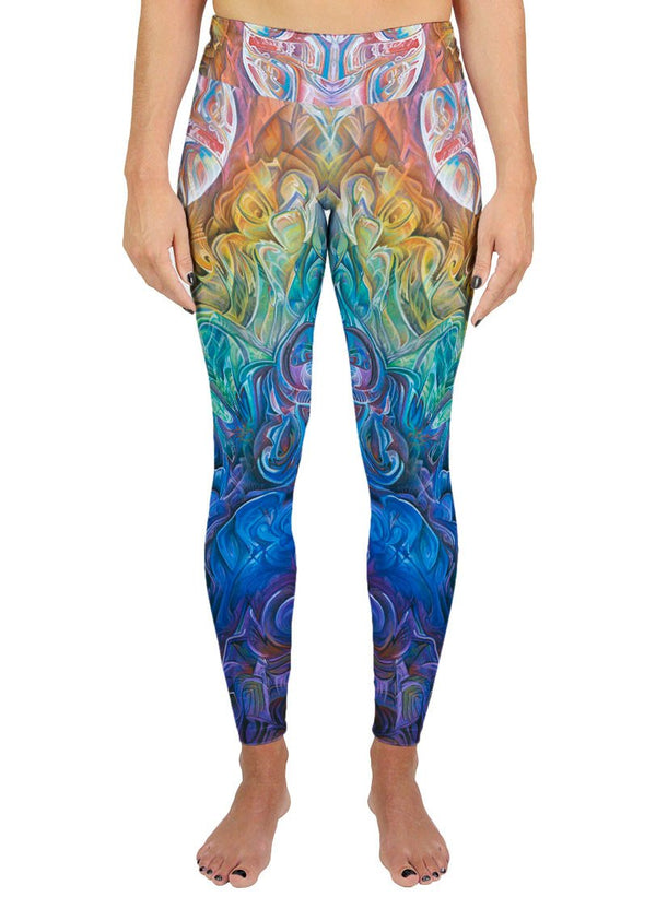 Dawn Of Transcendental Jubilance Active Leggings