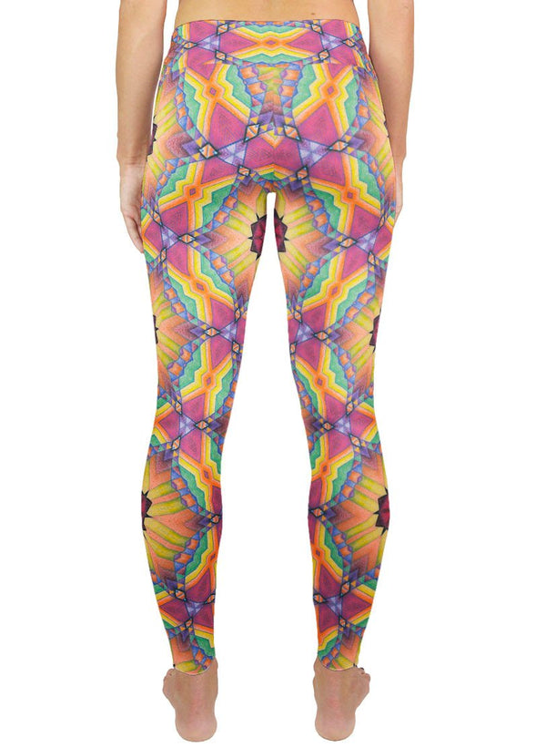 Universal Mind Patterned Active Leggings