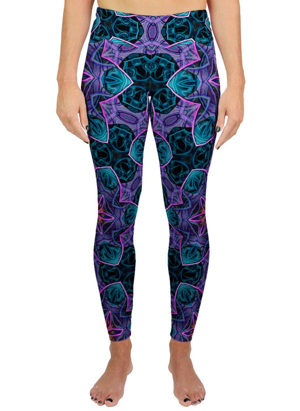 Maya Patterned Active Leggings