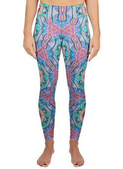 Evolve Inverted Patterned Active Leggings