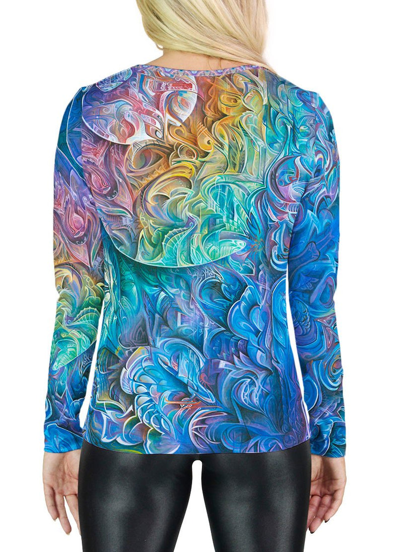Dawn of Transcendental Jubilance Womens Long Sleeve