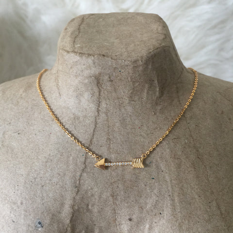 Necklace - Dainty Arrow Necklace