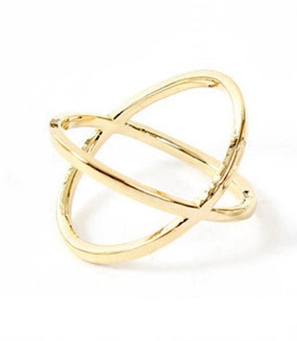 Rings - Gold X Ring