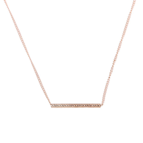 Necklaces -  Balance Bar Necklace