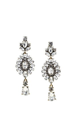 Earrings - Chandelier Diamond Earrings