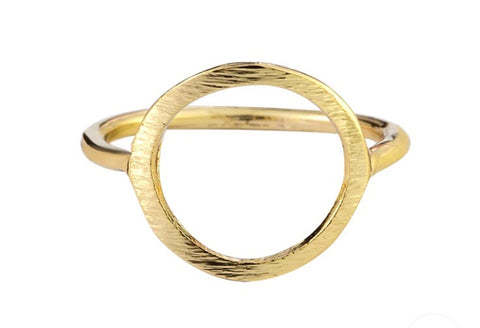 Rings - Gold Circle Ring