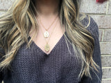 Necklace - Layered Saint Necklace