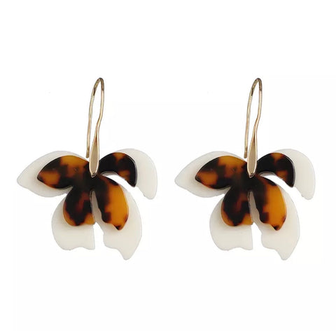 Earrings - Gisele Resin Hang Earrings