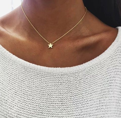 Necklace - Gold Star Necklace