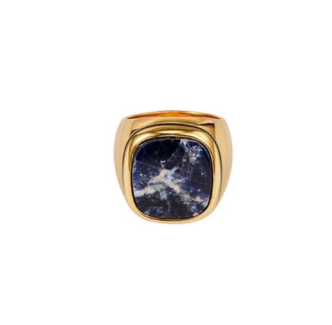 Rings - Gold Marble Ring