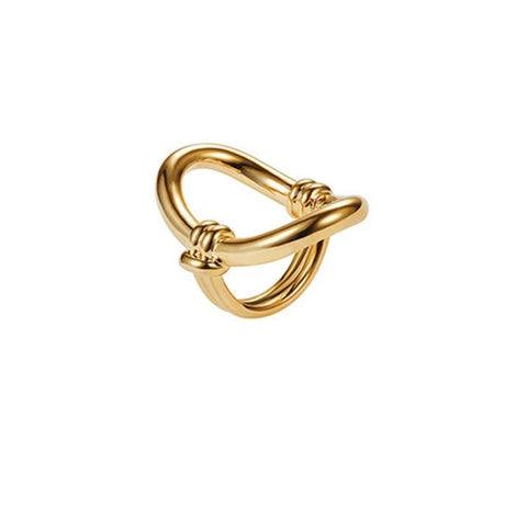 Rings - Gold Oval Ring