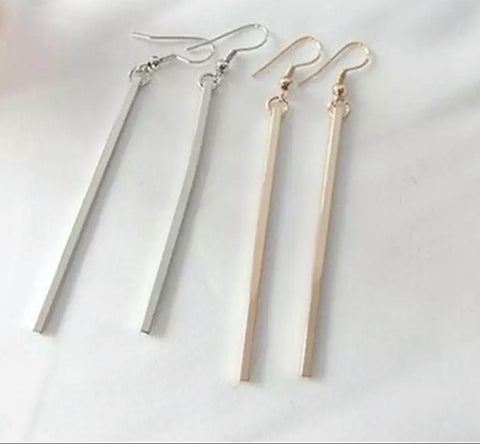 Earrings - Long Bar Earrings