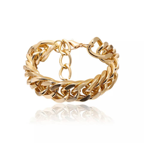 Bracelet - Gold Braided Bracelet