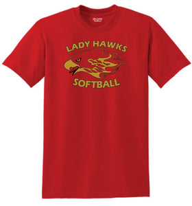 Rossview Hawks Softball Tee