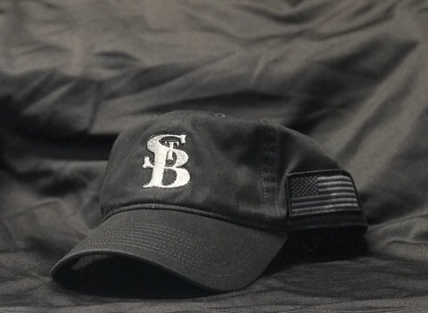 St. B Flag Cap (Black)